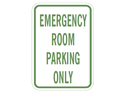 Picture of Emergency Room Parking Only