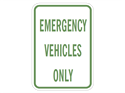 Picture of Emergency Vehicles Only