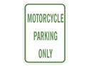 Picture of Motorcycle Parking Only
