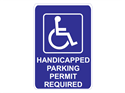 Picture of Handicap Parking Permit Required