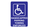 Picture of Handicap Parking Towing Enforced