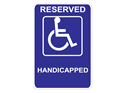 Picture of Reserved Handicapped Wrapped Text