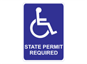 Picture of State Permit Required