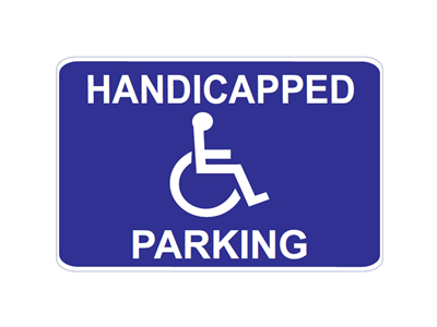 Picture of Handicapped Parking-Long