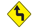 Picture of 90 Degree Left then Right Turn