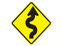 Picture of Right-Left Curves Ahead