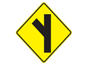 Picture of Left Y Intersection