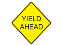 Picture of Yield Ahead-Text
