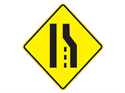 Picture of Right Lane Merging To Left
