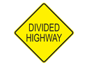 Picture of Divided Highway-Text