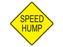 Picture of Speed Hump-Text