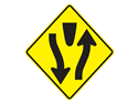 Picture of Median Ahead