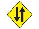 Picture of Opposing Traffic Ahead