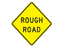 Picture of Rough Road -Text