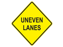 Picture of Uneven Lanes-Text