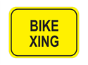 Picture of Bicycle Xing-Text