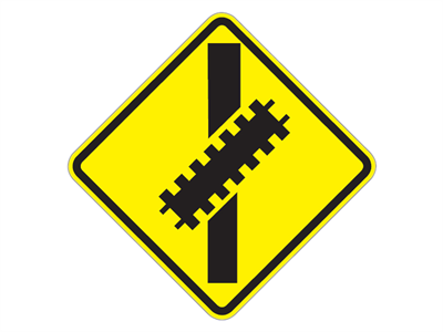 Picture of Railroad Crossing-Diagonal