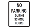 Picture of No Parking During School Hours
