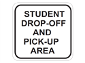 Picture of Student Drop-Off and Pick-Up Area