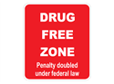Picture of Drug Free Zone Penalty Doubled Under Federal Law-Red