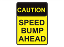 Picture of Caution Speed Bump Ahead
