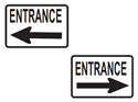 Picture of Entrance w/Arrows