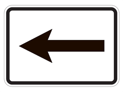 Picture of Keep Right Arrow