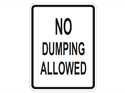 Picture of No Dumping Allowed