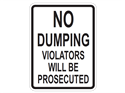 Picture of No Dumping Violators Will Be Prosecuted
