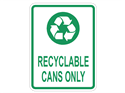 Picture of Recyclable Cans Only