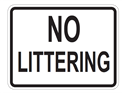 Picture of No Littering
