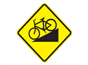 Picture of Hill For Bikes Ahead