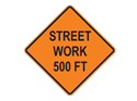 Picture of Street Work 500 FT