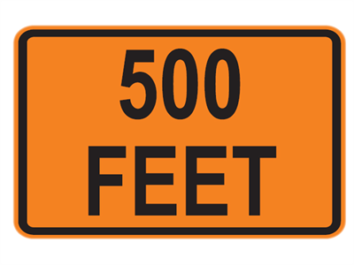 Picture of 500 Feet (Rectangular)