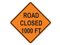 Picture of Road Closed 1000 FT