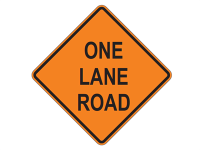 Picture of One Lane Road