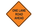 Picture of One Lane Road Ahead