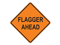 Picture of Flagger Ahead