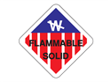 Picture of Flammable Solid w/Big W