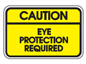 Picture of Caution Eye Protection Required