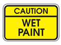 Picture of Caution Wet Paint