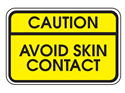 Picture of Caution Avoid Skin Contact