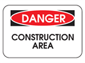 Picture of Danger Construction Area