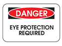 Picture of Danger Eye Protection Required