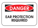 Picture of Danger Ear Protection Required