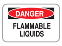 Picture of Danger Flammable Liquids