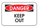 Picture of Danger Keep Out