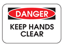 Picture of Danger Keep Hands Clear