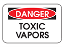 Picture of Danger Toxic Vapors