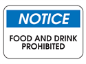 Picture of Notice Food & Drink Prohibited